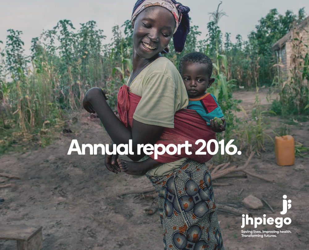 Jhpiego Annual Report 2016